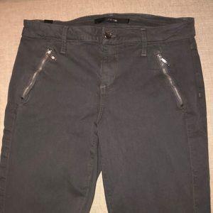 Joe's Jean Ankle Zip Skinny Pants  Oblique